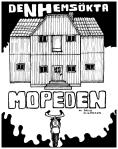 """""""Den Hemsökta Mopeden"""" - Framsida"""
